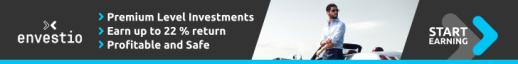 Best p2p platform envestio Banner