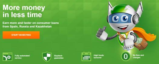 RoboCash Front Page