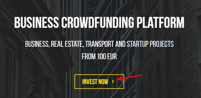 Crowdestor Sign-Up 1st Step