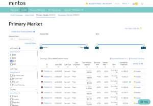 Mintos Primary Market Loans