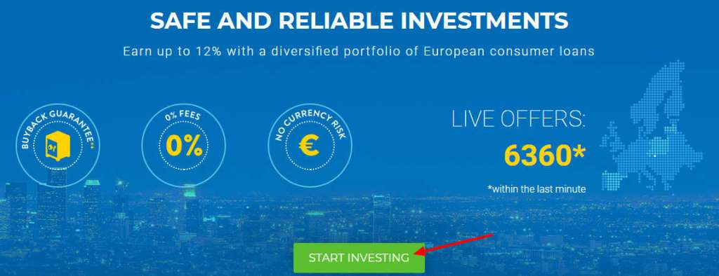 ViaInvest Sign-Up 1st Step