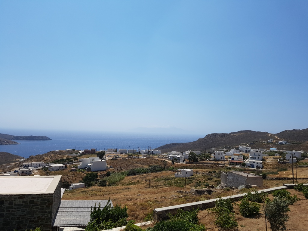 Serifos home view sea